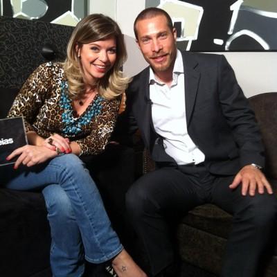 Nir Sivan with Camila Navaro Arkideias