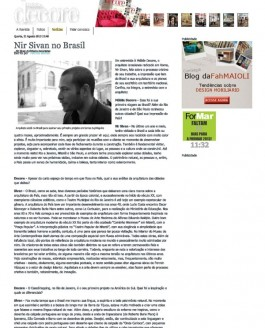Mobile Decore: Nir Sivan In Brazil