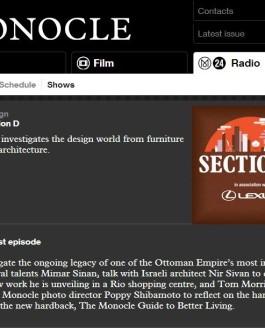 Monocle Radio: interview with Nir Sivan