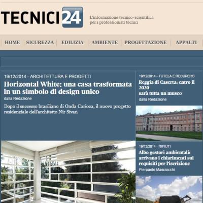 Il Sole 24 Ore Nir Sivan Architects Horizontal White copertina