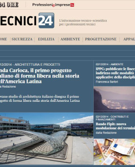 Il Sole 24 Ore: First Italian project of freeform in Latin America's History