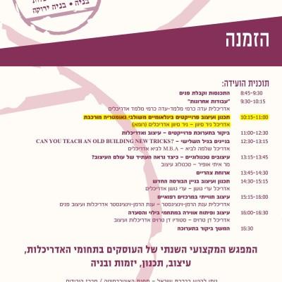 LECTURE NIR SIVAN FEB 17 2015 TEL-AVIV ISRAEL