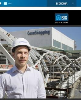 O Globo: The Olympic city, Onda Carioca construction initiation
